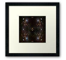 The Genius Nebular Framed Print