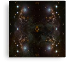 The Genius Nebular Canvas Print