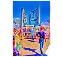Nathan Phillips Square Art Festival Poster