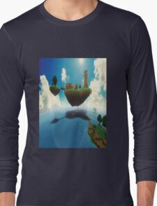 The World Of Minecraft Long Sleeve T-Shirt