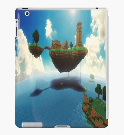 The World Of Minecraft iPad Case/Skin