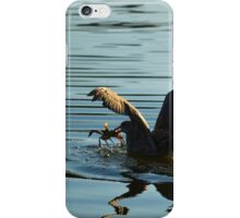 Seagull's Breakfast | Center Moriches, New York  iPhone Case/Skin