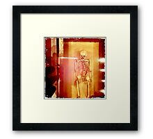 Skeletal Framed Print