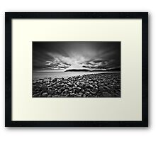 In the Begining Framed Print