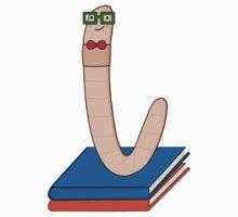 Mr. Bookworm! (+ books) T-Shirt