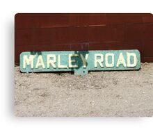 Marley Road Canvas Print