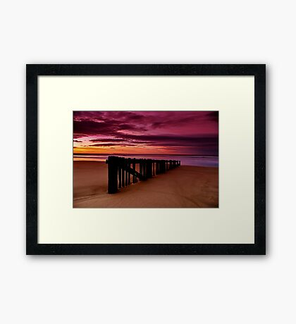 """Dawn Rhapsody"" Framed Print"