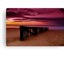 """Dawn Rhapsody"" Canvas Print"