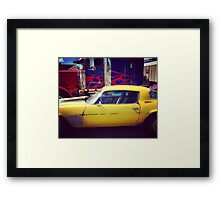 Calling all Autobots! Framed Print