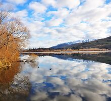 Lake Hayes, Near Arrowtown, NZ by Chris Jones