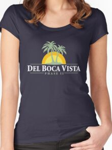 Del Boca Vista - Retirement Community Women's Fitted Scoop T-Shirt