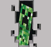 Minecraft Creeper! by MuchMoreGames