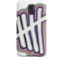 5SOS Stripes Logo - 5SOS Samsung Galaxy Case/Skin