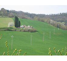Landscape, Umbria Photographic Print