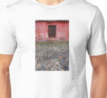 Old window in Colonia del Sacramento, Uruguay Unisex T-Shirt