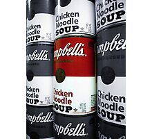 Soup - Andy Warhol Tribute Photographic Print