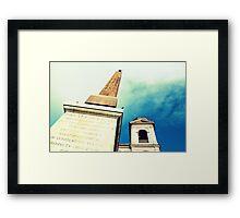 Iglesia Plaza España - Italia Framed Print
