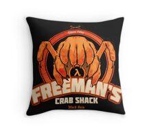 Freeman's Crab Shack Design Throw Pillow