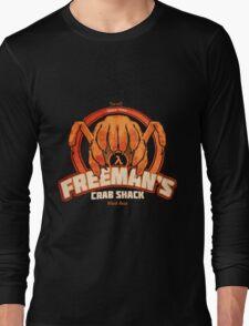 Freeman's Crab Shack Design Long Sleeve T-Shirt