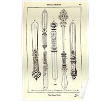 A Handbook Of Ornament With Three Hundred Plates Franz Sales Meyer 1896 0419 Metal Objects Paper Knife Poster