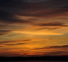 Severn Sunset Heaven by Kevin Cotterell