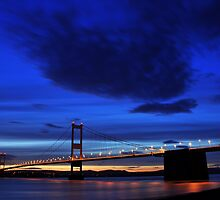 Severn Blue Hour by Kevin Cotterell