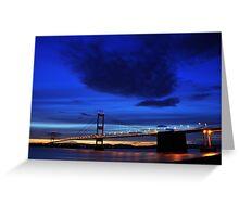 Severn Blue Hour Greeting Card