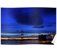 Severn Blue Hour Poster