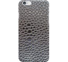 Silver cellular background iPhone Case/Skin