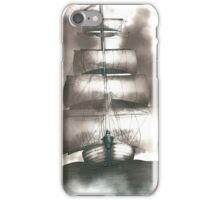 Sailing in the storm iPhone Case/Skin