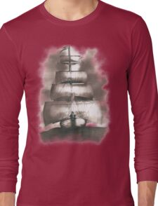 Sailing in the storm Long Sleeve T-Shirt