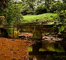 Old Wycoller Bridge by Country  Pursuits