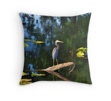 solo juvenile chirp Throw Pillow