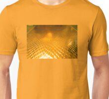 Golden alligator patterned background Unisex T-Shirt