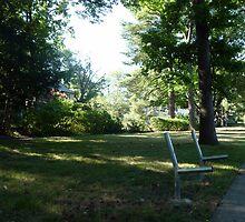 Ghost bench by nealbarnett