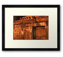 Abandon Fort Framed Print