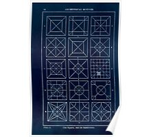 A Handbook Of Ornament With Three Hundred Plates Franz Sales Meyer 1896 0032 Geometrical Elements Square Subdivision Inverted Poster