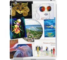 collage of artwork iPad Case/Skin