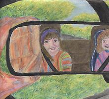 Reflections in the Rear View Mirror by Kyleacharisse