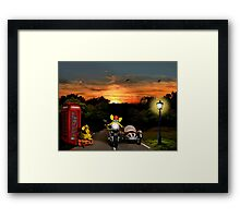Never lose patience Framed Print