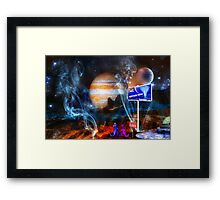 ~ But we came 80,000 light years! ~ Framed Print
