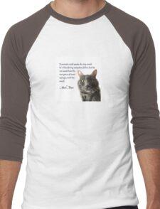 If Animals Could Speak Men's Baseball ¾ T-Shirt