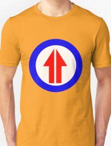 Retro Sixties Inspired Mod Arrow Target T-Shirt