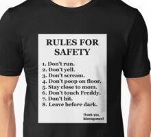 FNaF-Rules Unisex T-Shirt