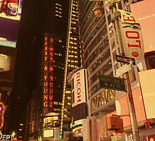 Times Square in Love by EllinRonee