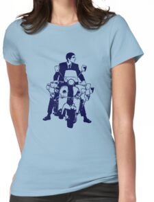 Scooter Rider 4 Womens Fitted T-Shirt
