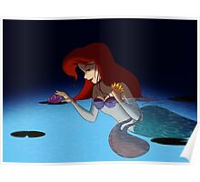 "The Little Mermaid - Ariel ""Late Night Exploration"" Poster"