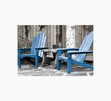 Blue Seating For Two Unisex T-Shirt
