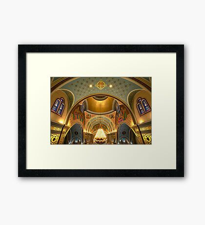 Arches, Arches, Arches Framed Print