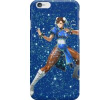 Street Fighter Chun Li Stars iPhone Case/Skin